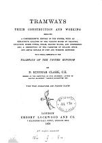 Tramways, their construction and working. [With] Supp. vol