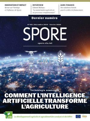 Spore 195  Technologie num  rique   Comment l   intelligence artificielle transforme l   agriculture PDF
