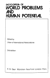 Encyclopedia of World Problems and Human Potential PDF