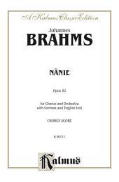 Nanie-Nenia: SATB Choral Extended Work