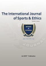 The International Journal of Sports   Ethics PDF