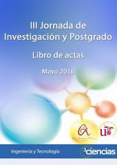III Jornada de Investigación y Postgrado: libro de actas