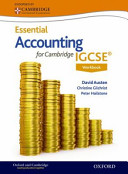 Accounting for Cambridge IGCSE Workbook PDF