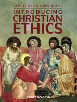 Introducing Christian Ethics PDF