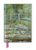 Claude Monet Foiled Journal
