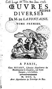 Oeuvres diverses de M. de La Fontaine
