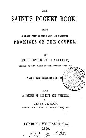 The saints pocket book
