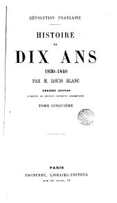Révolution française: Histoire de dix ans