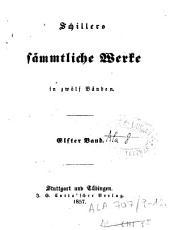 Schillers saemtliche Werke in zwoelf Baenden: Band 6