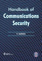 Handbook of Communications Security PDF