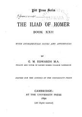 The Iliad of Homer: Book 22