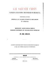 Gai Salustii Crispi Catilina, Iugurtha, Historiarum reliquiae