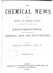 THE CHEMICAL NEWS AND JOURNAL OF PHYSICAL SCIENCE.