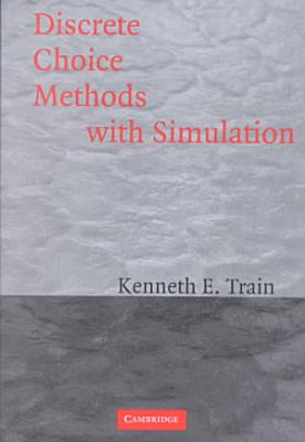 Discrete Choice Methods with Simulation PDF