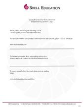 Comprehension and Critical Thinking Level 5