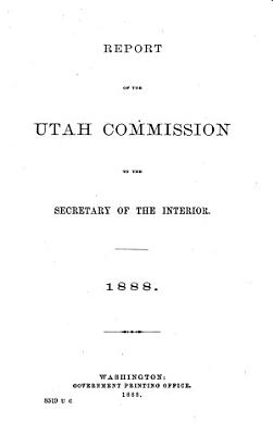 Report of the Utah Commission to the Secretary of the Interior PDF