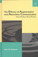 The Efficacy Of Augmentative And Alternative Communication Book PDF