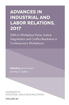 Advances in Industrial and Labor Relations  2017 PDF