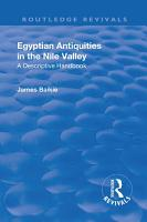 Revival  Egyptian Antiquities in the Nile Valley  1932  PDF
