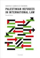 Palestinian Refugees in International Law PDF