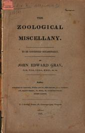 The Zoological Miscellany: Issue 1