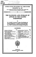 The Handling and Storage of Apples in the Pacific Northwest PDF