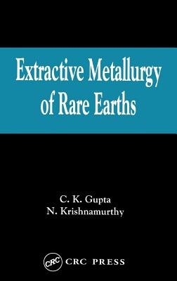 Extractive Metallurgy of Rare Earths PDF