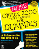 More Microsoft Office 2000 for Windows For Dummies PDF