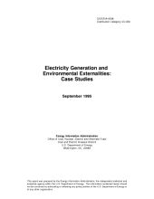 Electricity Generation and Environmental Externalities: Case Studies