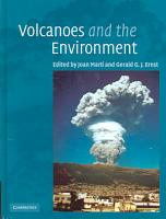 Volcanoes and the Environment PDF