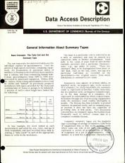 General Information about Summary Tapes