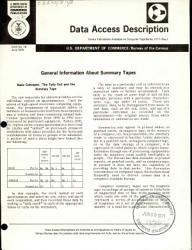 General Information About Summary Tapes Book PDF