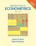 Introduction to Econometrics  Update Plus New Myeconlab with Pearson Etext    Access Card Package PDF