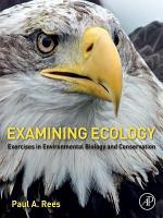 Examining Ecology PDF