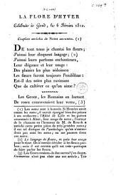 La flore d'hyver: célébrée à Gand, le 6 Février 1810