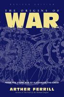 The Origins Of War PDF