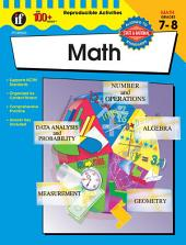 The 100+ Series Math, Grades 7 - 8