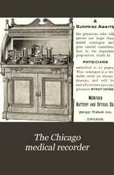 The Chicago Medical Recorder PDF