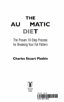 The Automatic Diet PDF