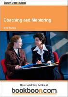 Coaching and Mentoring PDF