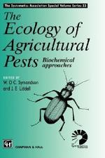 Ecology of Agricultural Pests