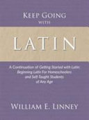 Keep Going with Latin Book