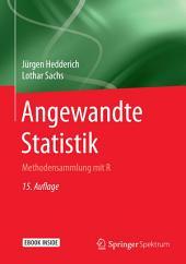 Angewandte Statistik: Methodensammlung mit R, Ausgabe 15