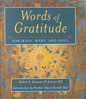 Words Of Gratitude Mind Body   Soul PDF