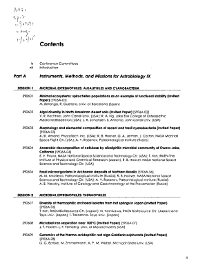 Astrobiology and Planetary Missions PDF