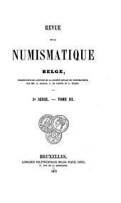 Revue belge de numismatique et de sigillographie