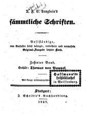 Prosaische Werke: Thomas von Rampel, Band 5