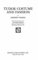 Tudor Costume and Fashion PDF