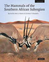 The Mammals of the Southern African Sub region PDF
