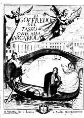 El Goffredo: canta alla Barcariola